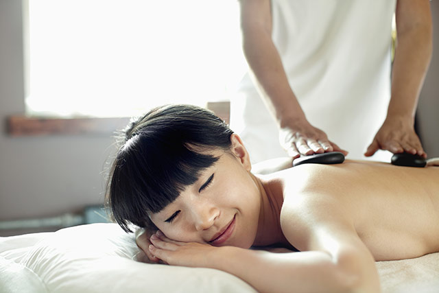 Hot stone massage London at Flower Thai Massage